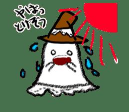 magical ghost! sticker #7113125