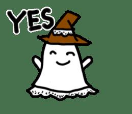magical ghost! sticker #7113127