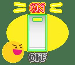 Neon sign sticker 2 sticker #7113288