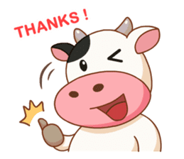 Momo Cow vol 2 sticker #7113568