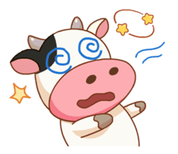 Momo Cow vol 2 sticker #7113571