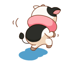 Momo Cow vol 2 sticker #7113572