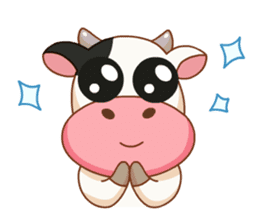 Momo Cow vol 2 sticker #7113573