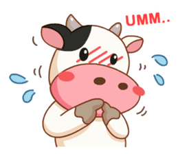 Momo Cow vol 2 sticker #7113575