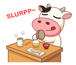 Momo Cow vol 2 sticker #7113577