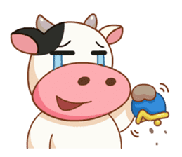 Momo Cow vol 2 sticker #7113578