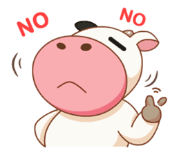 Momo Cow vol 2 sticker #7113579