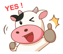 Momo Cow vol 2 sticker #7113580