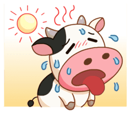 Momo Cow vol 2 sticker #7113581