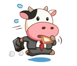 Momo Cow vol 2 sticker #7113582