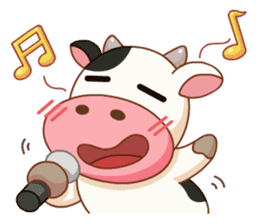 Momo Cow vol 2 sticker #7113584