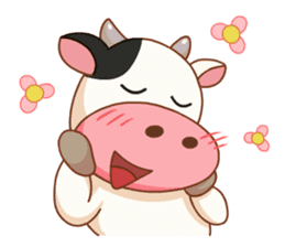 Momo Cow vol 2 sticker #7113588