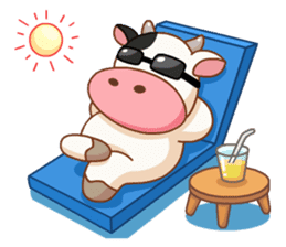 Momo Cow vol 2 sticker #7113589