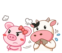 Momo Cow vol 2 sticker #7113597