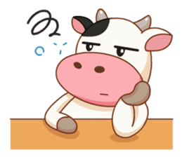 Momo Cow vol 2 sticker #7113601