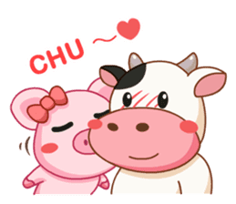 Momo Cow vol 2 sticker #7113604
