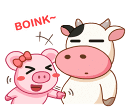 Momo Cow vol 2 sticker #7113607