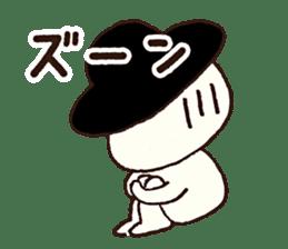 gobo-ben notoro-kun sticker #7116019