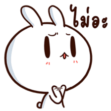 Moose the rabbit & Babe Carrot 2 sticker #7117781