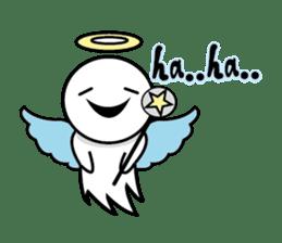 Angel VS Devil(English version) sticker #7121032
