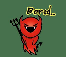 Angel VS Devil(English version) sticker #7121033