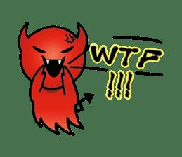 Angel VS Devil(English version) sticker #7121034