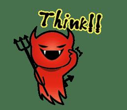 Angel VS Devil(English version) sticker #7121035