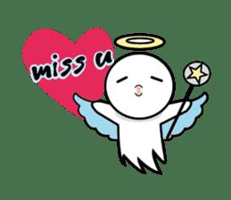 Angel VS Devil(English version) sticker #7121036