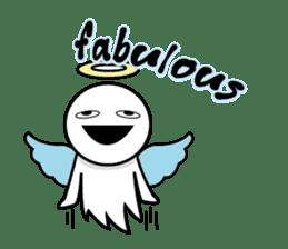 Angel VS Devil(English version) sticker #7121037