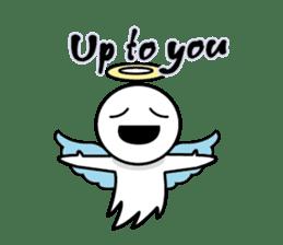 Angel VS Devil(English version) sticker #7121041