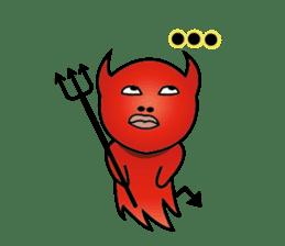 Angel VS Devil(English version) sticker #7121043