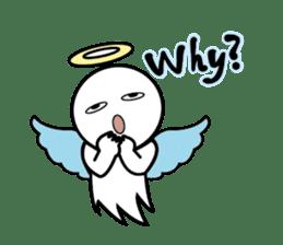 Angel VS Devil(English version) sticker #7121045