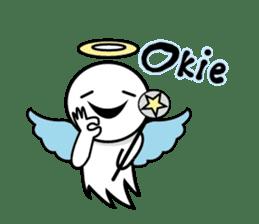 Angel VS Devil(English version) sticker #7121049