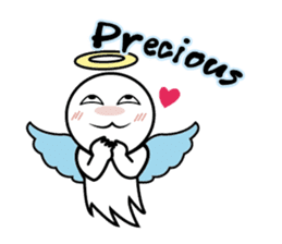Angel VS Devil(English version) sticker #7121053