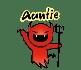 Angel VS Devil(English version) sticker #7121054