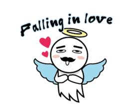 Angel VS Devil(English version) sticker #7121057