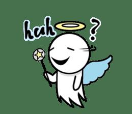 Angel VS Devil(English version) sticker #7121060