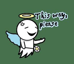 Angel VS Devil(English version) sticker #7121061