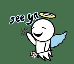 Angel VS Devil(English version) sticker #7121064