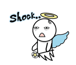 Angel VS Devil(English version) sticker #7121065
