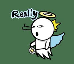 Angel VS Devil(English version) sticker #7121069