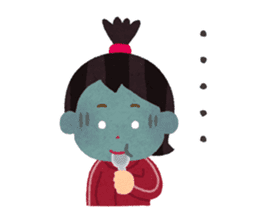 Hungry Girl Azuki sticker #7122726