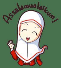 Jamil & Jamilah (The Cute Moslem Couple) sticker #7123112