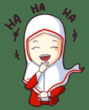 Jamil & Jamilah (The Cute Moslem Couple) sticker #7123116