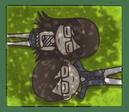 Mikaela & Lyon (Ver.2) sticker #7123483