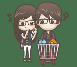 Mikaela & Lyon (Ver.2) sticker #7123496