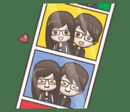 Mikaela & Lyon (Ver.2) sticker #7123499