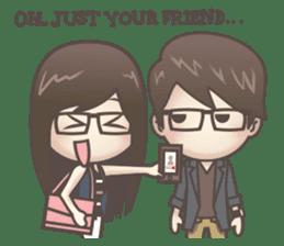 Mikaela & Lyon (Ver.2) sticker #7123501