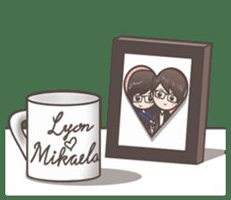 Mikaela & Lyon (Ver.2) sticker #7123511