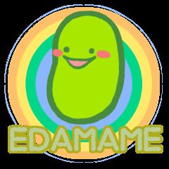A single word Edamame-chan :English Ver.